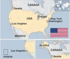 Map Of Usa In 1861 by United States Country Profile Bbc News