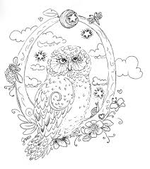 coloring pages owl coloring page getcoloringpages coloring