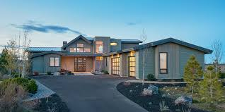 leed certified house plans gabled entry mountain modern house plan 54224hu architectural