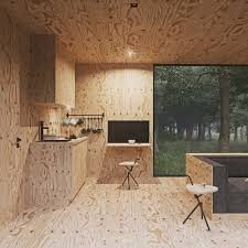 Small Cabin In The Woods by Cabin In The Forest Tomek Michalski Design Visualization
