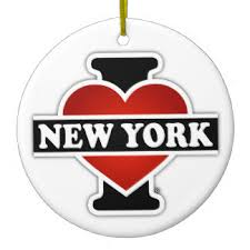 New York Christmas Tree Decorations Uk by New York Flag Christmas Tree Decorations U0026 Ornaments Zazzle Co Uk