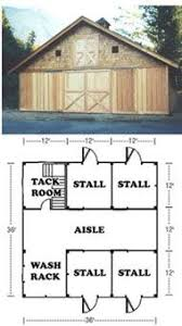 small horse barn designs barn plans order the paper set or