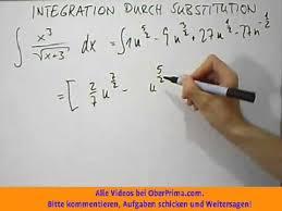 br che umformen integration durch substitution bruch und wurzel