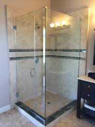 Glass Shower Doors San Diego Glass Showers Poway Ca Glastec Construction