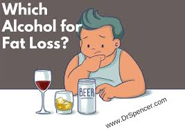 cartoon alcohol which alcohol should you drink for fat loss dr spencer nadolsky
