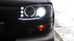 aftermarket lights for trucks 1999 2006 gmc sierra smoked aftermarket headlights review youtube