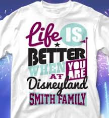 disney family vacation t shirts for your next disney trip