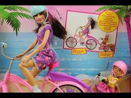 barbie sisters bike skipper chelsea doll 2 pack