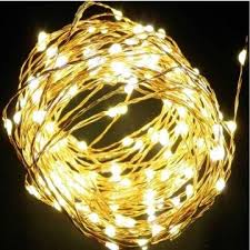 micro led copper wire string lights for