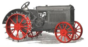 mccormick deering com ihc tractor gray paint discovered