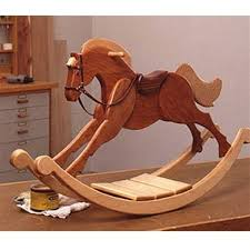Free Wood Craft Plans by Playroom Palomino Rocking Horse Woodworking Plan Woodworking Diy