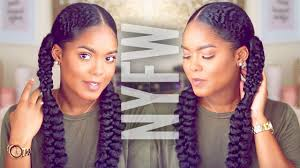 2016 hair and fashion natural hair fashion week inspired braided hairstyle youtube