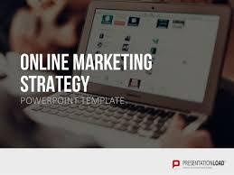 online marketing strategy ppt slide template