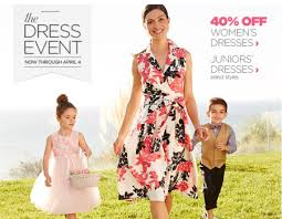 40 off dresses at jcpenney