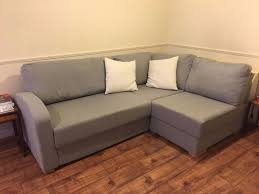 cosy l shaped sofa bed with chaise and wide single bed in east