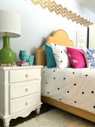 Teen Bedroom Makeover - black white and chic all over a teen bedroom makeover