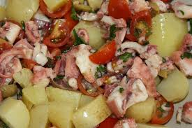 comment cuisiner poulpe salade de poulpe à l italienne harmonie et partage