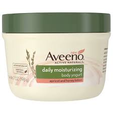 aveeno active naturals daily moisturizing body yogurt apricot aveeno active naturals daily moisturizing body yogurt apricot and honey lotion 7