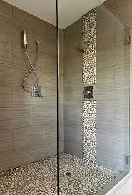 bathroom tile ideas 2013 best 25 pebble tile shower ideas on large tile shower