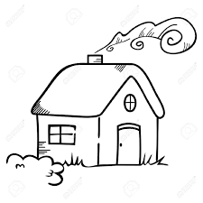 Home Clipart White House Clipart Drawn Pencil And In Color White House