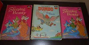 3 walt disney books 1974 sleeping beauty 1972 dumbo land sea