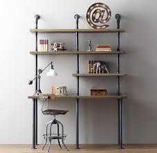 Diy Pipe Desk Weekend Project Diy Shelf Using Industrial Pipe
