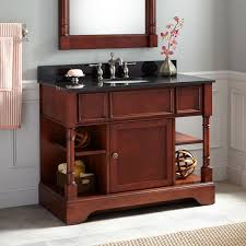 Cherry Bathroom Vanity Cabinets Cherry Bathroom Vanity Signature Hardware