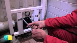 toilette sous escalier wc suspendu pose youtube