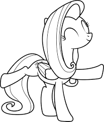 mlp coloring page flutterdance by scienceisanart on deviantart