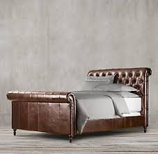 Leather Bed Headboards Leather Beds Rh