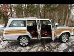 jeep silver 1991 jeep grand wagoneer grand wagoneer by classic gentleman