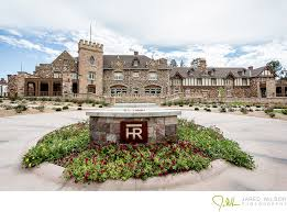 wedding venues in denver the front of the highlands ranch mansion wedding and event venue