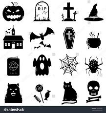 Halloween Vector Images Halloween Icon Set Vector Stock Vector 152367806 Shutterstock