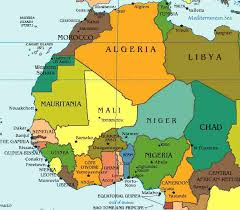 west africa map quiz njyloolus africa map with capitals