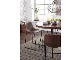 dining room carter counter height dining table and barstools