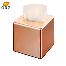 tissue paper box orz square roll paper box home office car tissue box holder