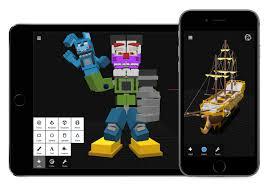 3dc 3d modeling app