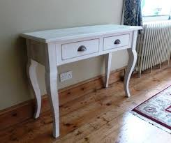 Pine Console Table Console Table U0026 2 Drawers Hallway Or Telephone Table