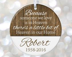infant loss christmas ornaments christmas in heaven ornament