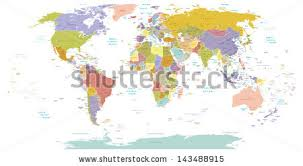world map stock image world map silhouette free vector stock graphics