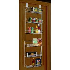 Kitchen Wrap Organizer by Amazon Com Storage Dynamics 5 Foot Vinyl Covered Steel Over Door