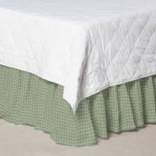 White Bed Skirt Queen Bed Skirts Dust Ruffles For King Queen Full U0026 Twin Size Beds