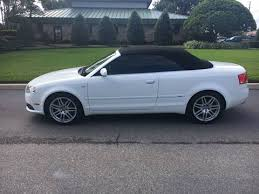 white audi a4 convertible for sale 2009 audi a4 for sale pease mn carsforsale com