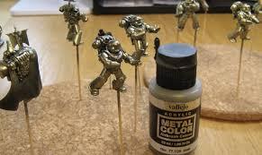 kevin u0027s miniatures u0026 hobby table candy metallic painting tutorial