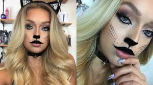 cute halloween cat makeup cat makeup tutorial very original i know youtube