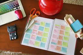 Work Desk Organization Work Desk Organizing Girly Cool Notes School Organize