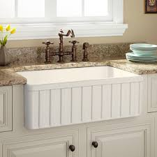decor 45 inch stainless steel top mount farmhouse sink for