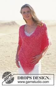 drops design poncho blush drops 89 10 free knitting patterns by drops design
