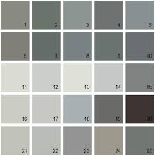 benjamin moore gray house paint colors palette 07 12