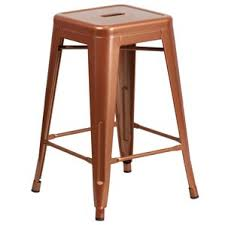 Wood And Metal Bar Stool Modern Metal Bar Stools Counter Stools Allmodern